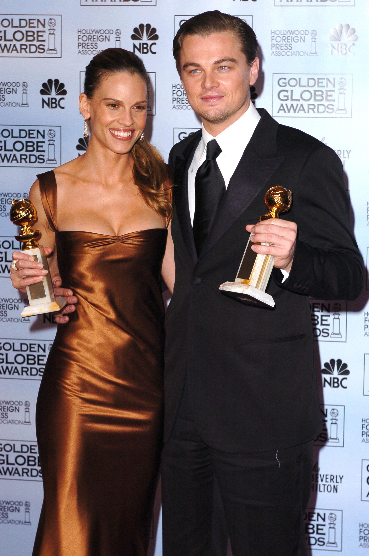 Hilary Swank, Leonardo DiCaprio