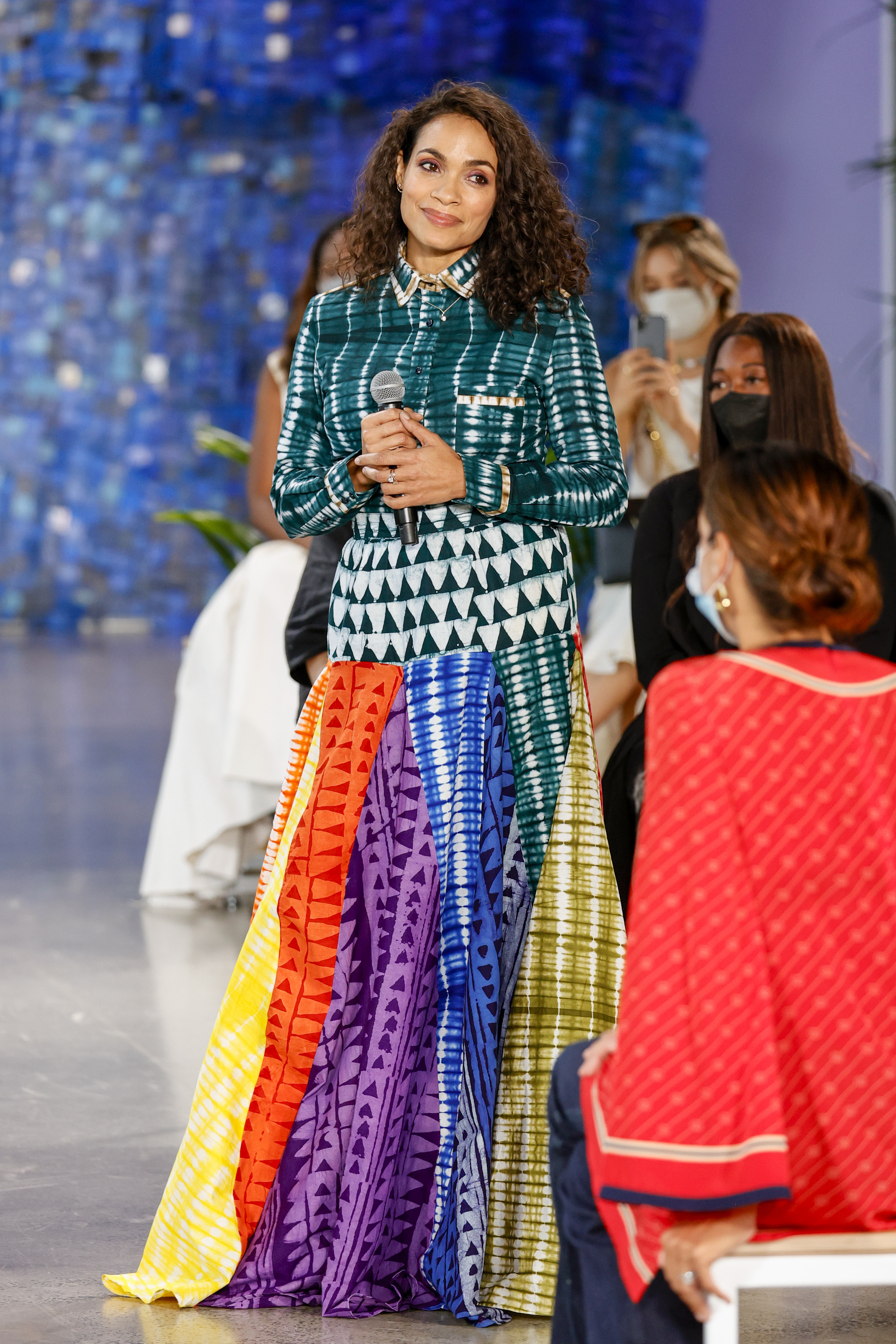 Rosario Dawson, New York Fashion Week