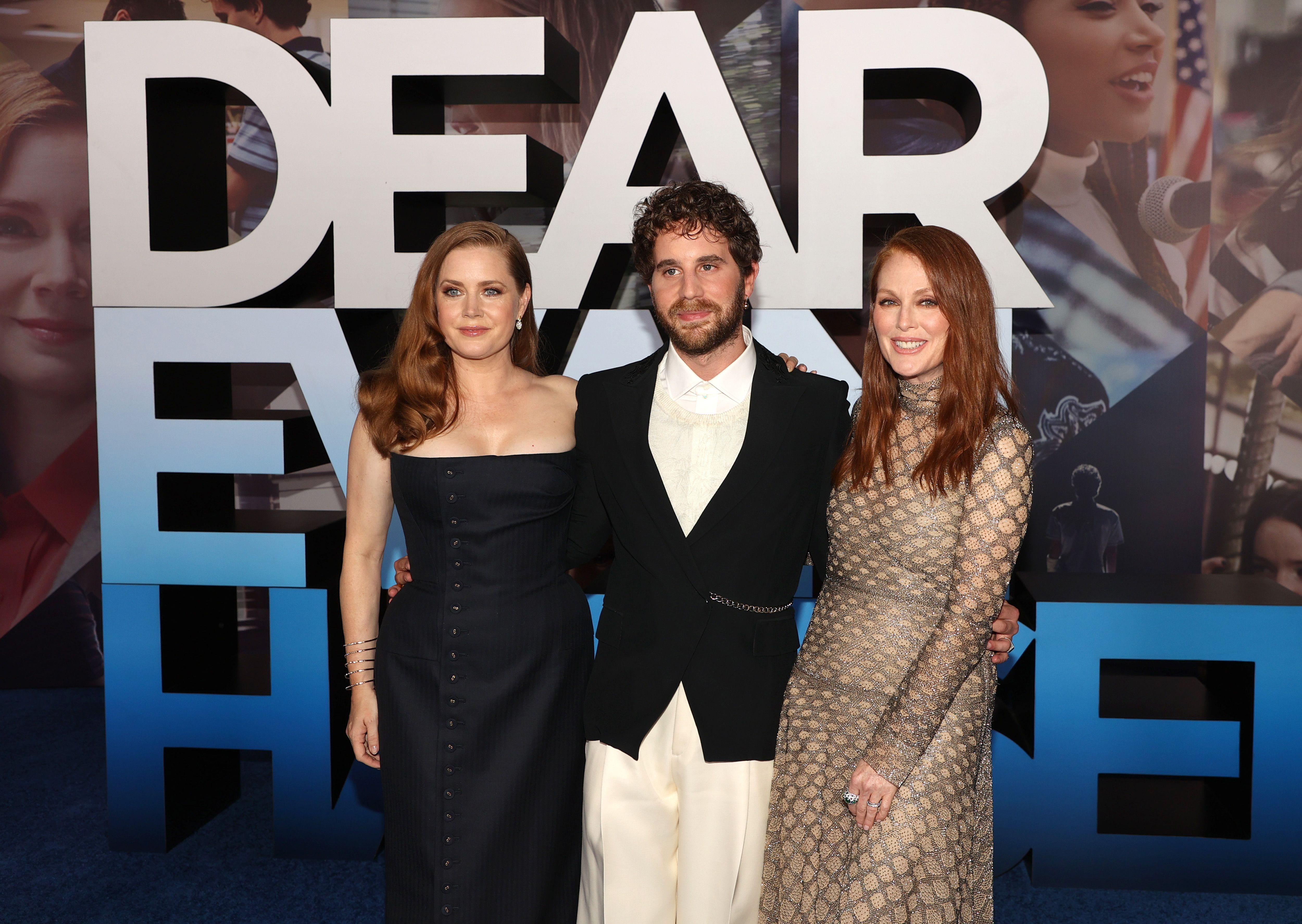 Amy Adams, Ben Platt, and Julianne Moore