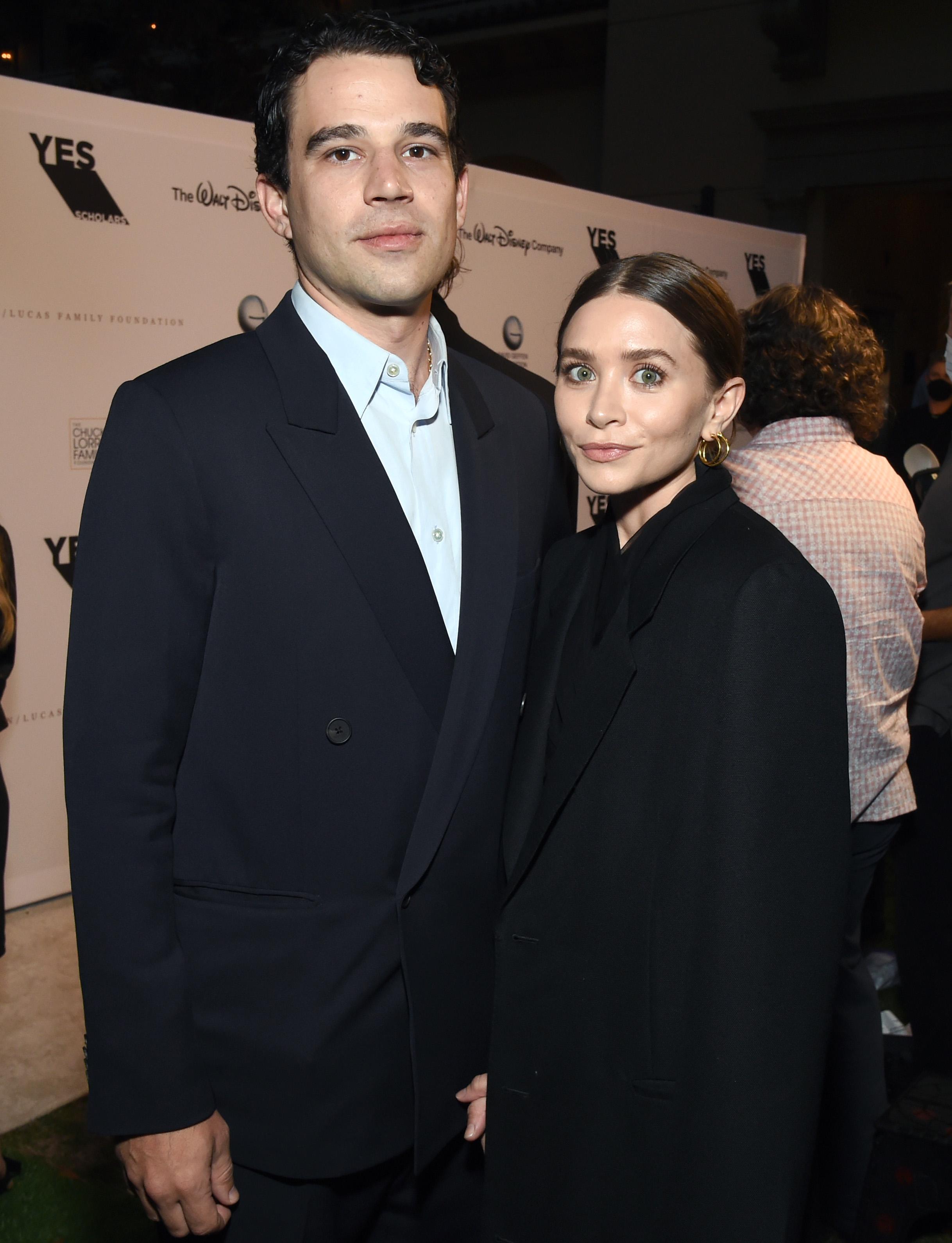 Ashley Olsen, boyfriend Louis Eisner
