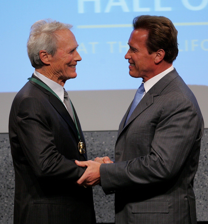 Arnold Schwarzenegger, Clint Eastwood