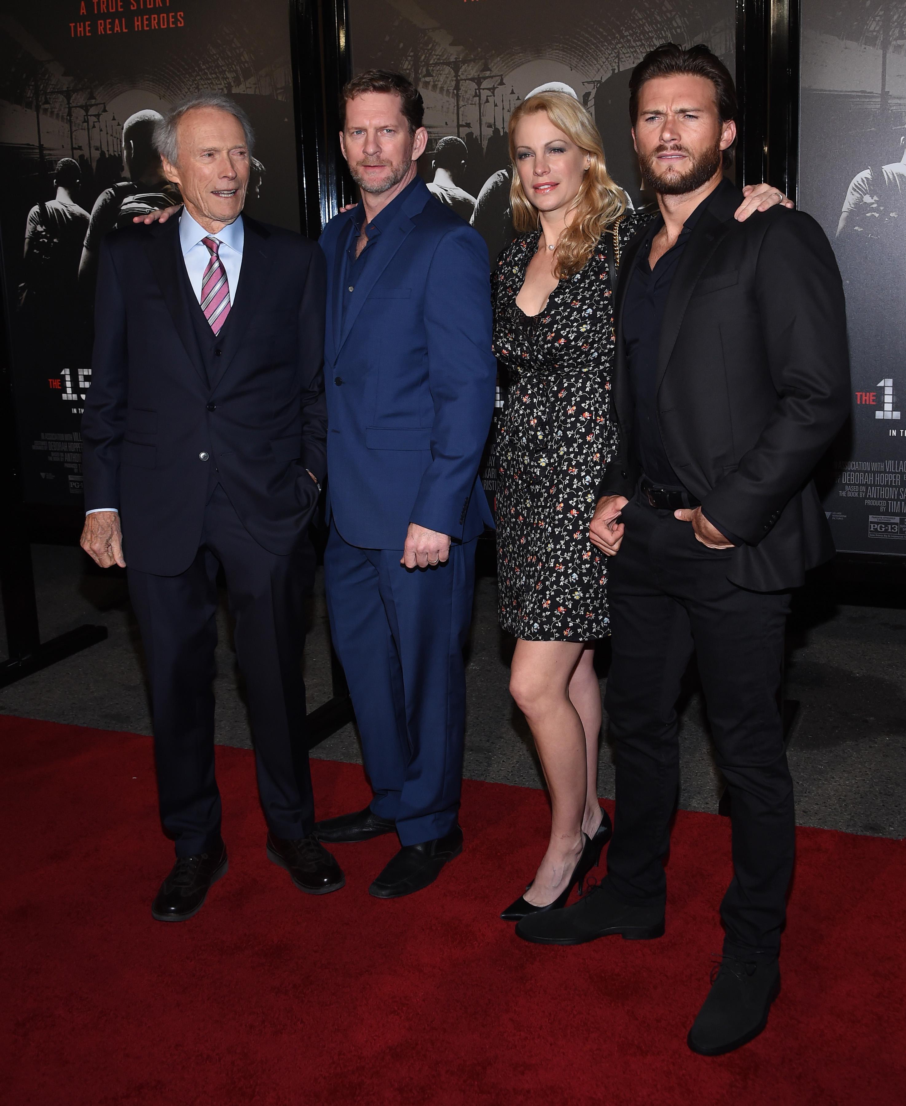 Clint Eastwood, Kyle Eastwood, Alison Eastwood, Scott Eastwood