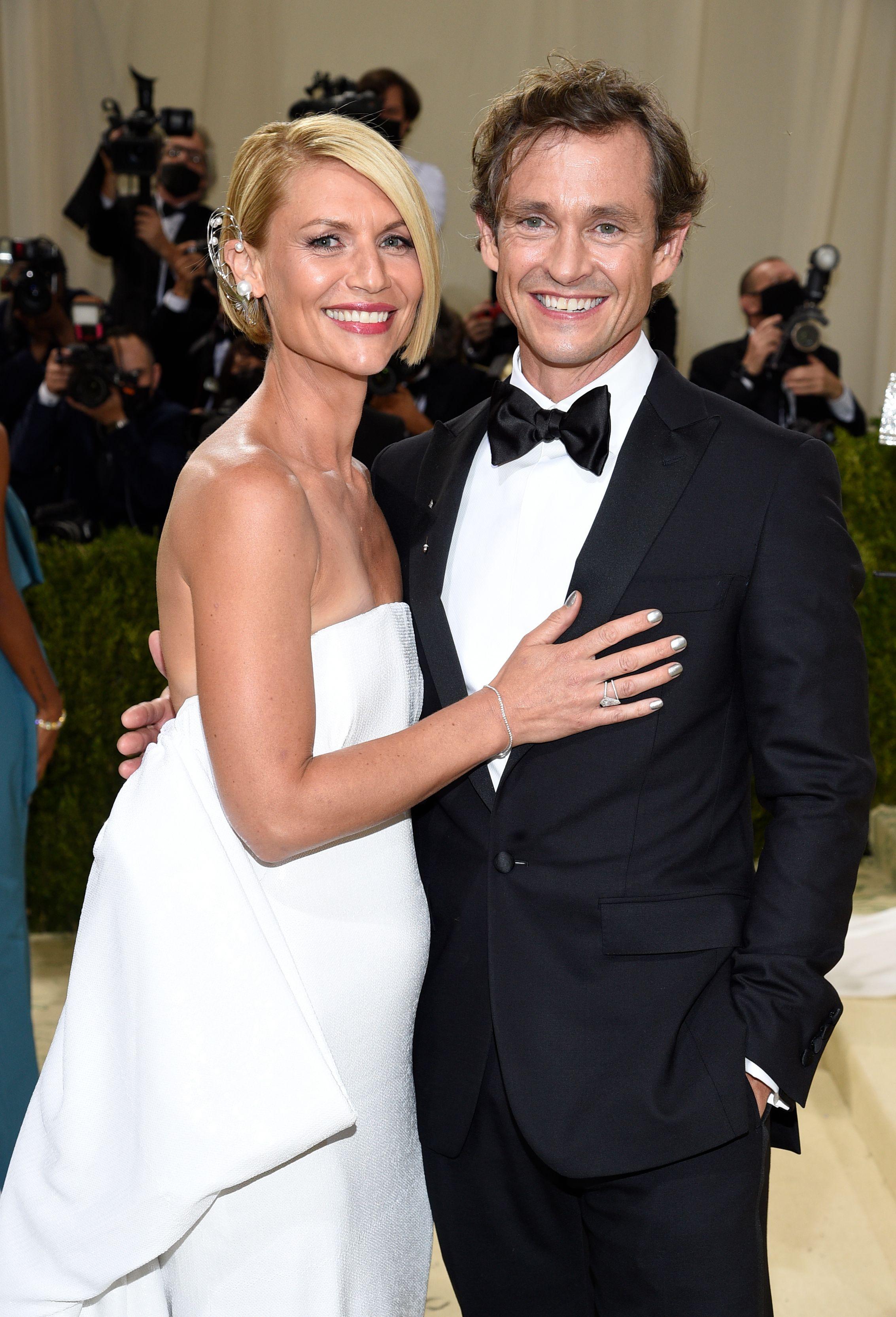 Claire Danes, husband Hugh Dancy, Met Gala