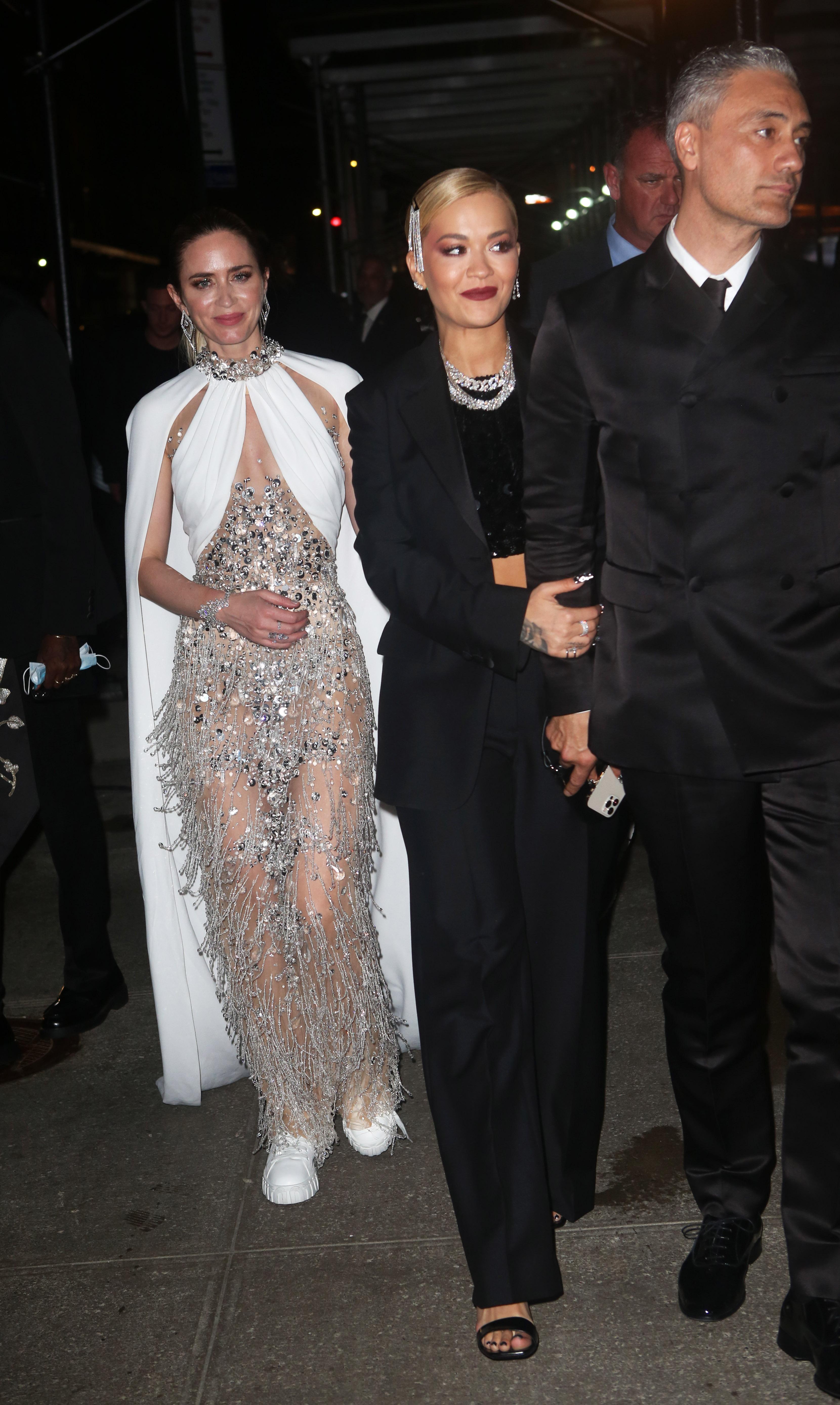 Emily Blunt, Taika Waititi and Rita Ora