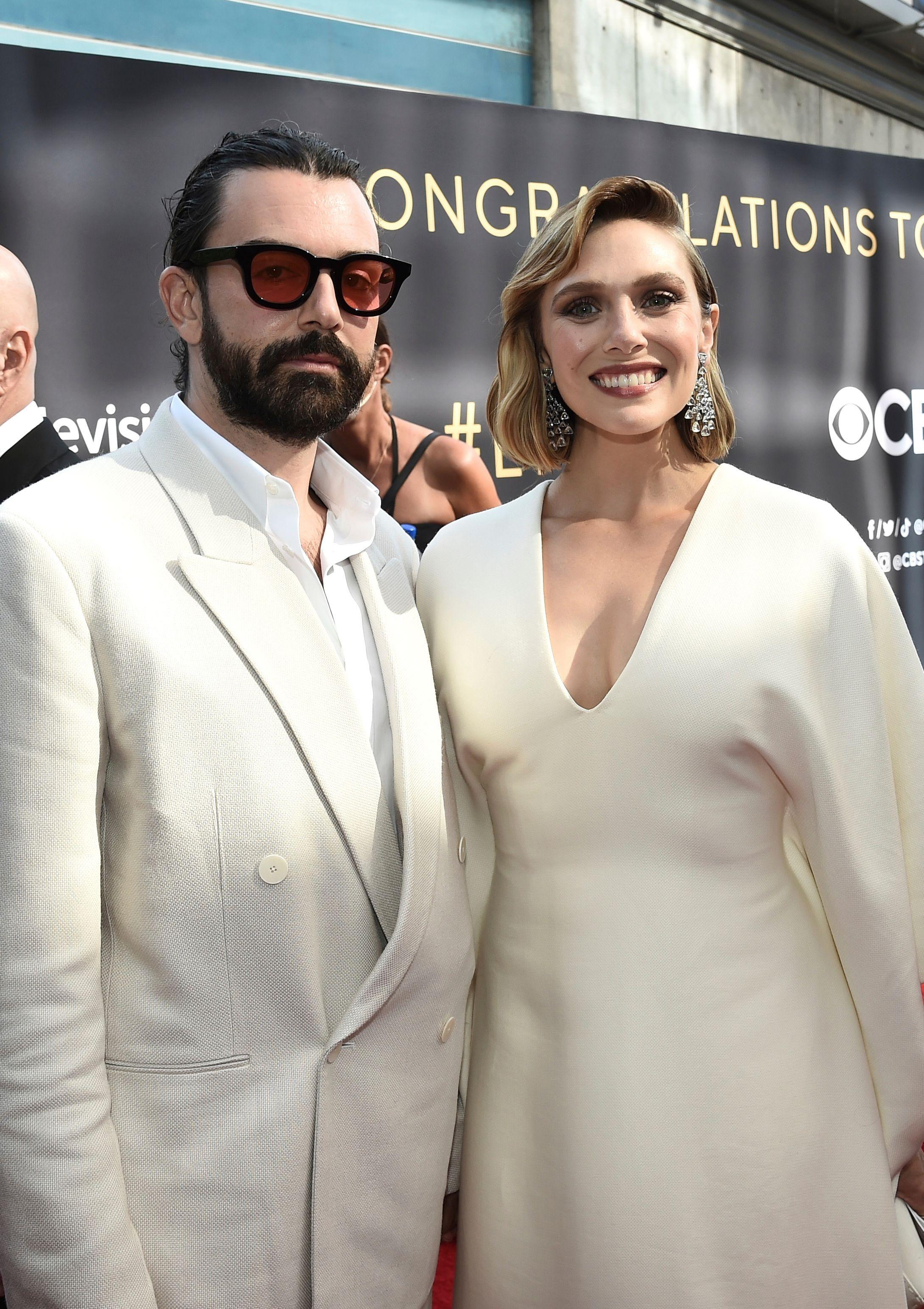 Elizabeth Olsen, husband Robbie Arnett, Emmys