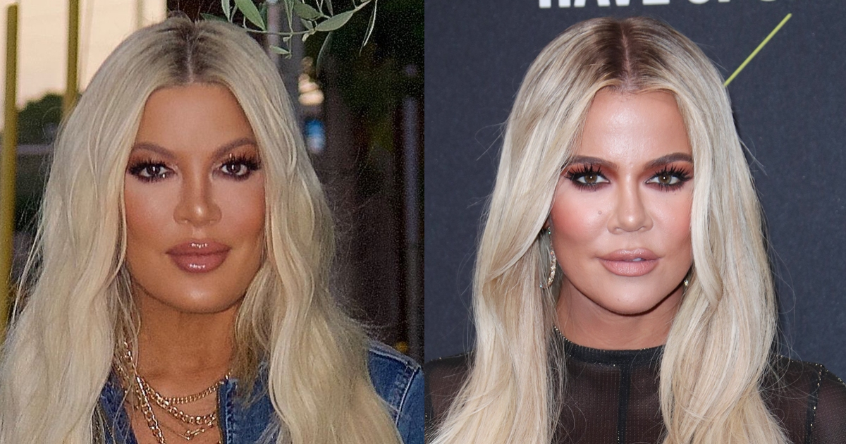 Tori Spelling reacts to those Khloe Kardashian comparisons   Wonderwall.com