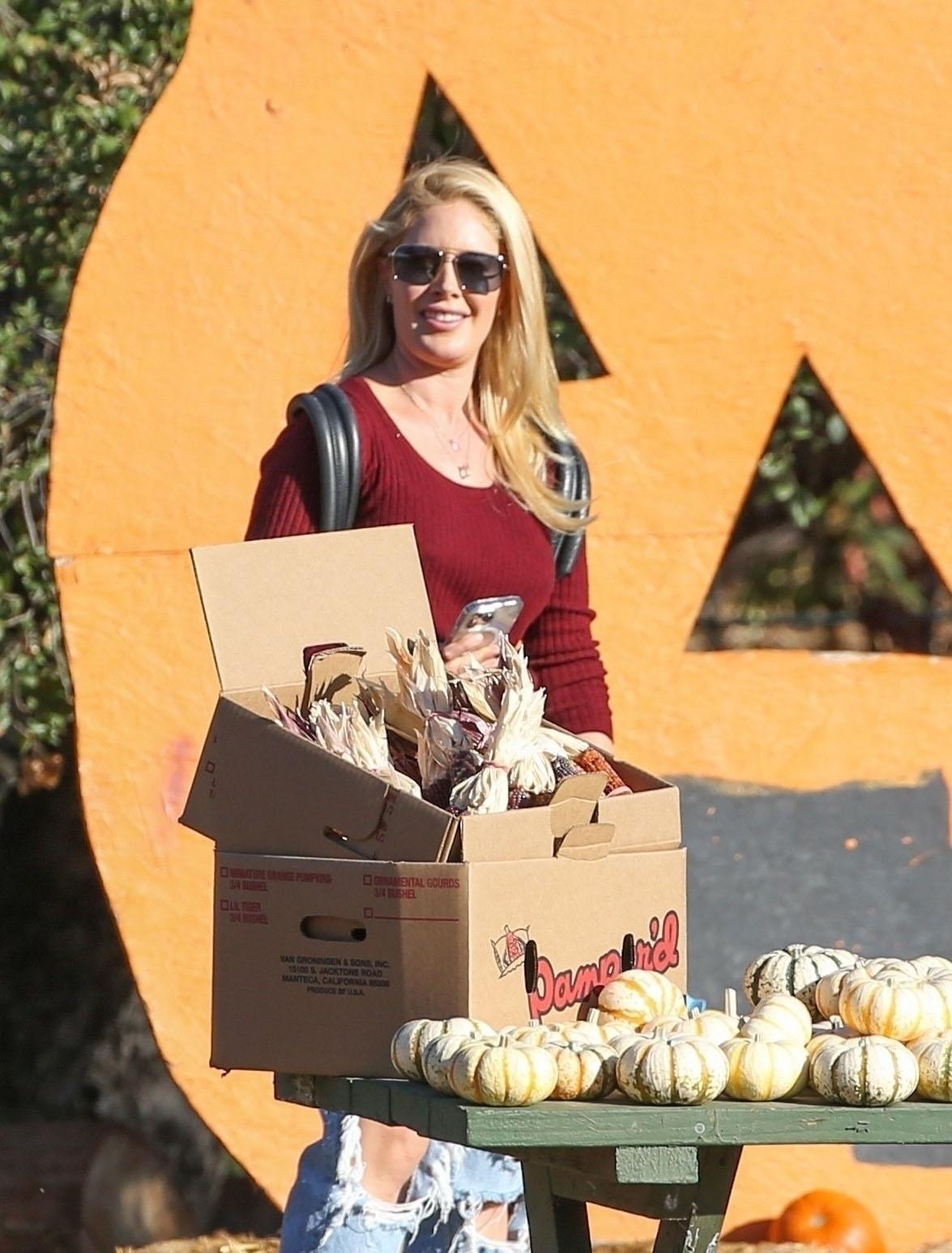 Heidi Montag pumpkin patch