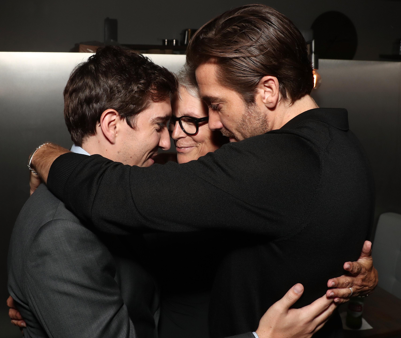 Jamie Lee Curtis, Jake Gyllenhaal, Jeff Bauman