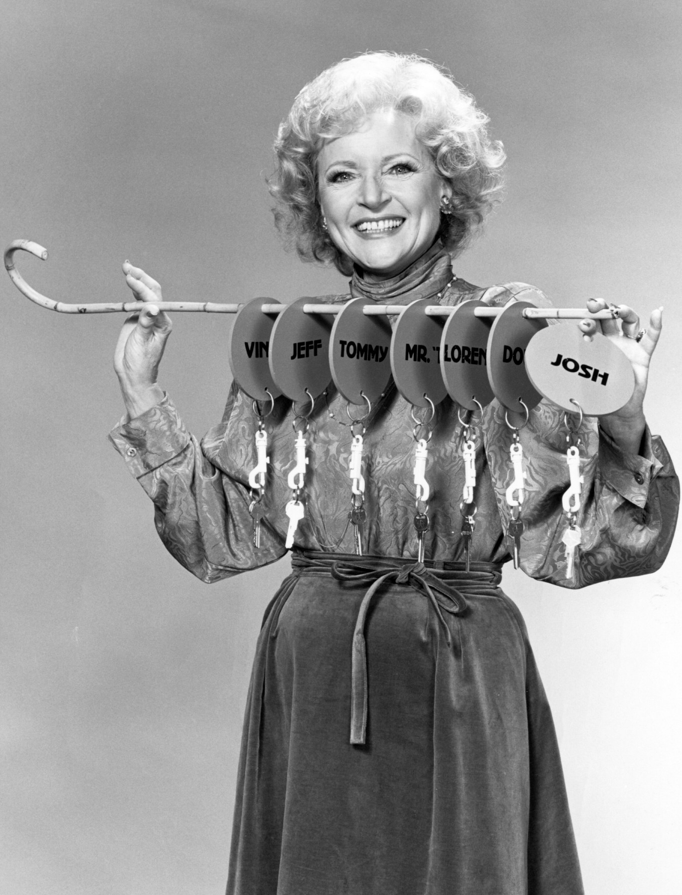 Betty White, Just Men!
