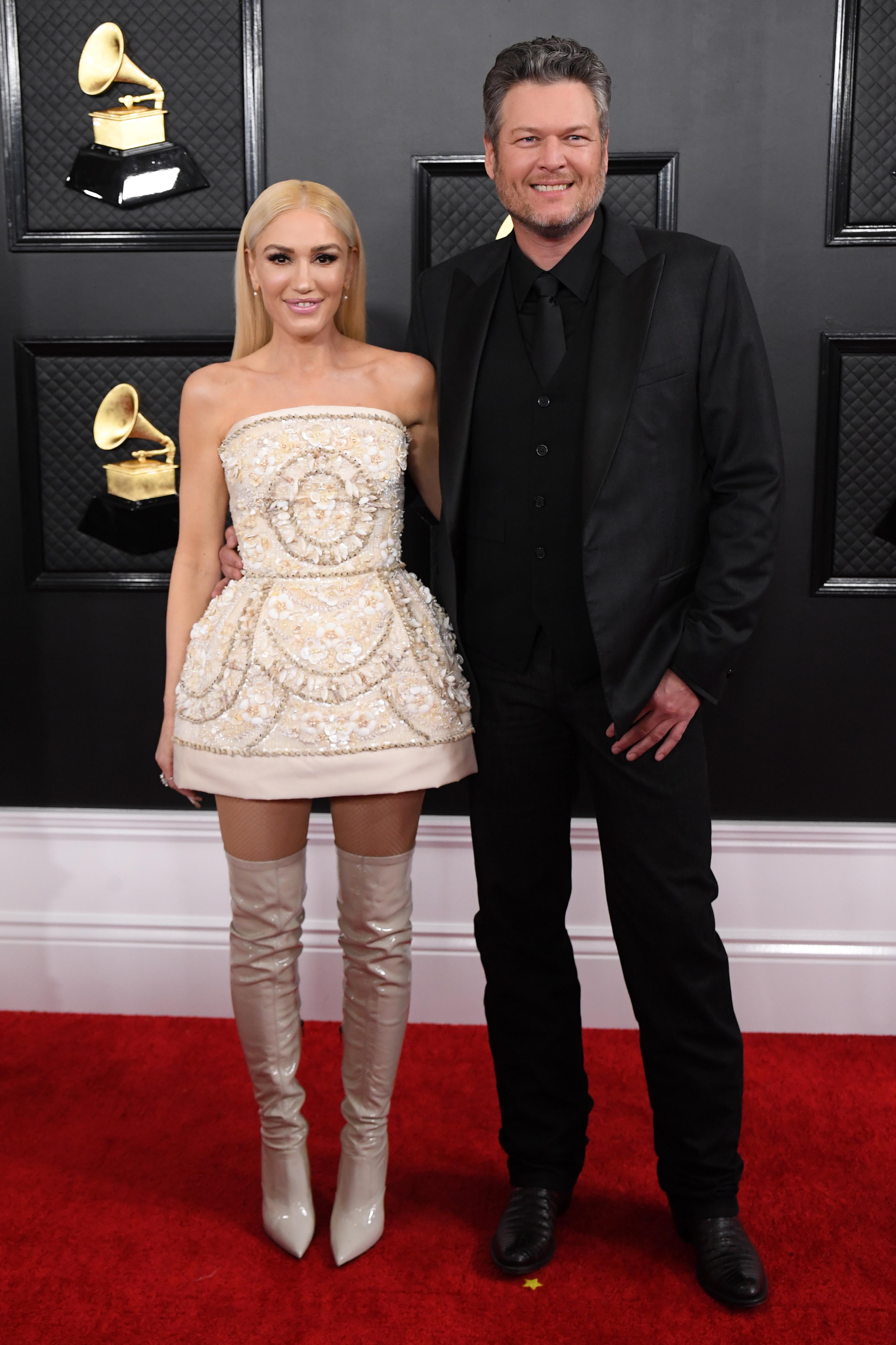 Gwen Stefani, Blake Shelton, Grammys