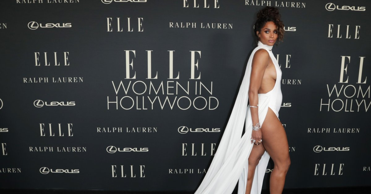 Ciara's barely-there dress and more fashion from the star-studded ELLE Women in Hollywood Celebration.jpg